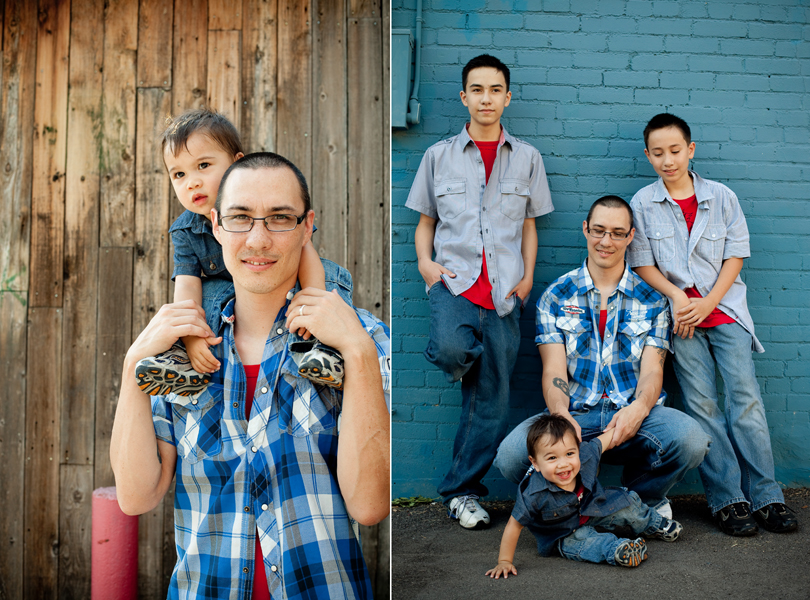 blue plaid, man, austin family photography