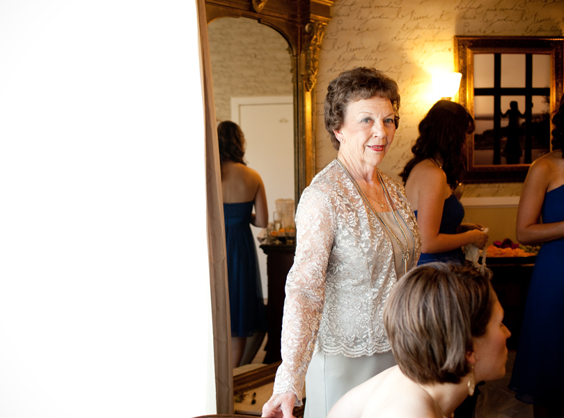 grandmother of the bride, vintage villas wedding