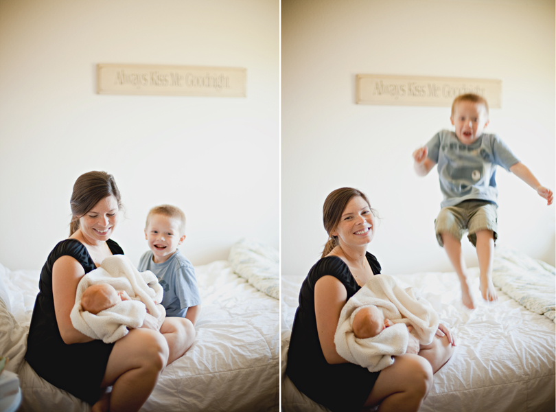 austin family photographer at home