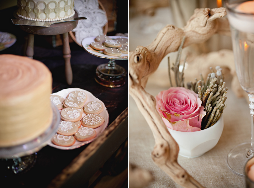 Barr Mansion Weddings, Stems Floral Design, Loot Vintage Rentals, organic, wedding cookies