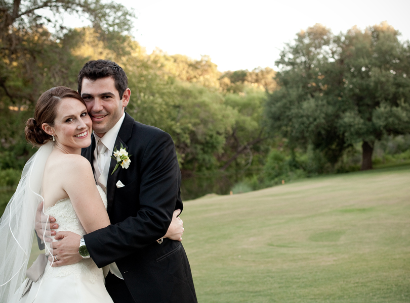 bride and groom, The Hills Country Club Wedding