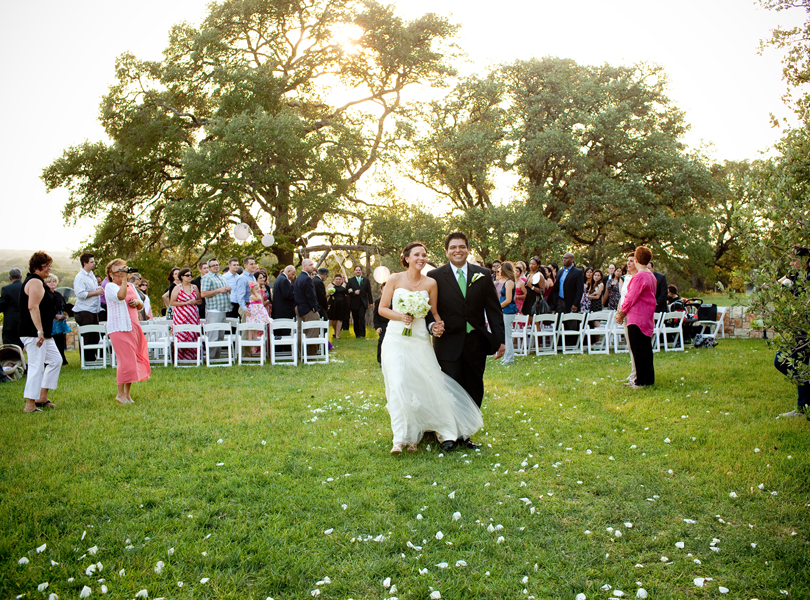 wedding recessional, thurman mansion wedding