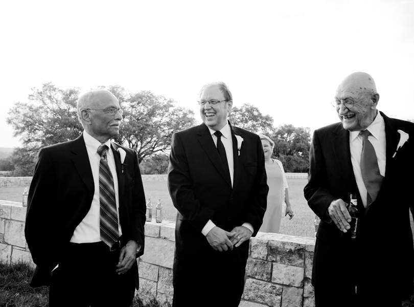 dads, black and white, thurman mansion wedding