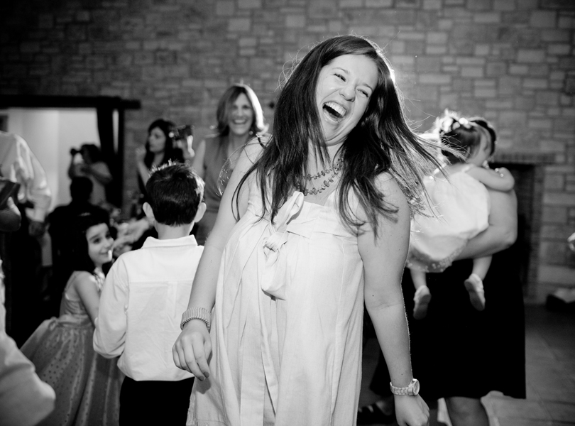 wedding reception, black and white, thurman mansion wedding