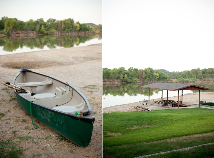 lakefront, canoe, vacation photographer