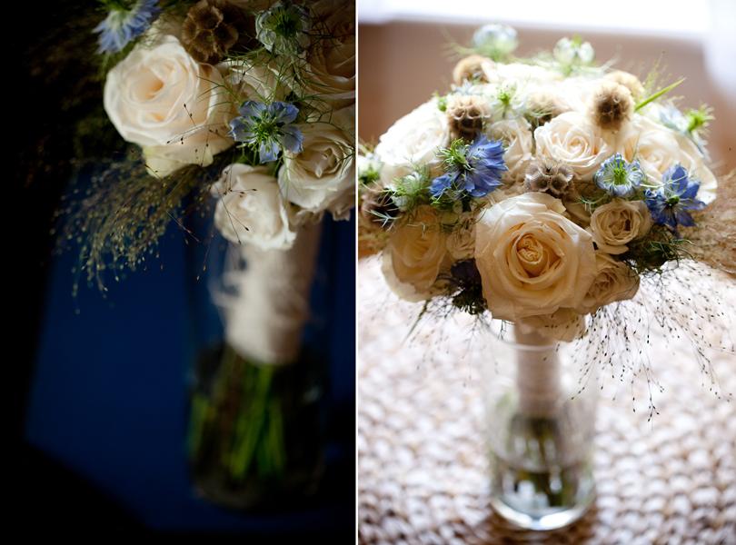organic, roses, blue flower