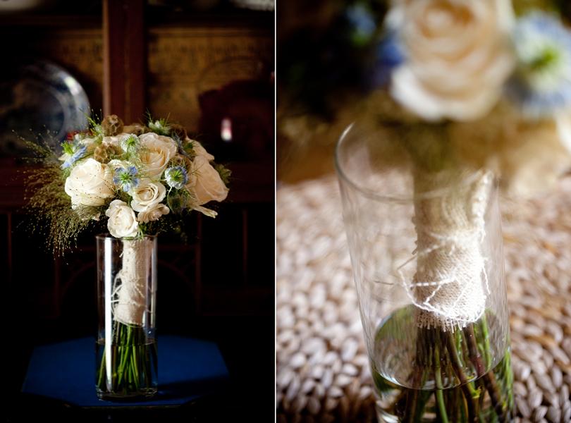vase, Opalia flowers, roses