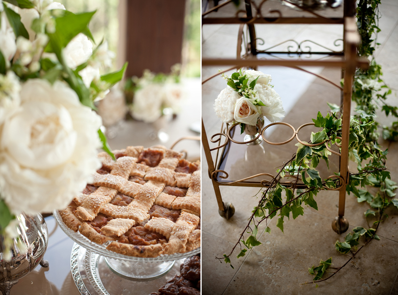 Austin Weddings, Camille Styles, The Byrd Collective, antiquaria vintage registry, apple pie, whole foods, ivy