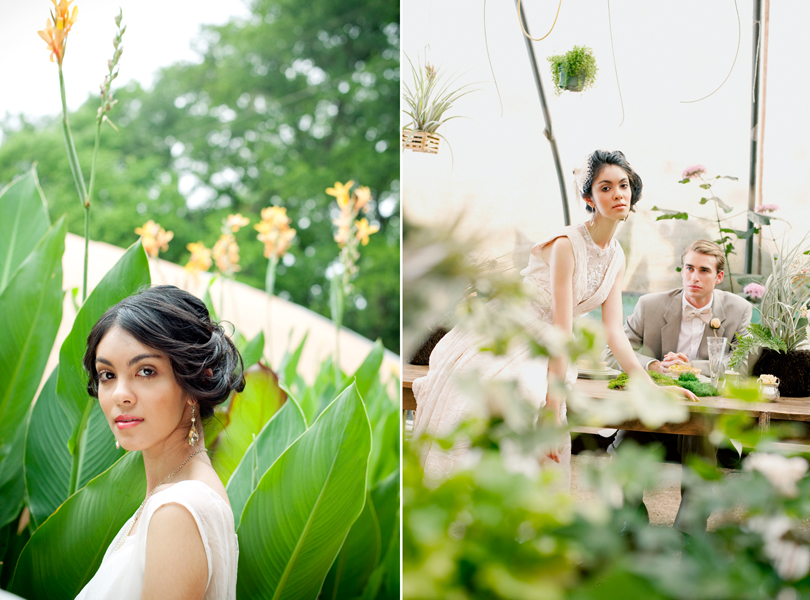 Hummingbird House, Erica Gray, milli starr, Gilda Grace Bridal, Pearl Events, Arthouse Design, Campbell agency, Melanie Howe, She-N-He, The Great Outdoors, bride, high fashion, green house, austin wedding photographer