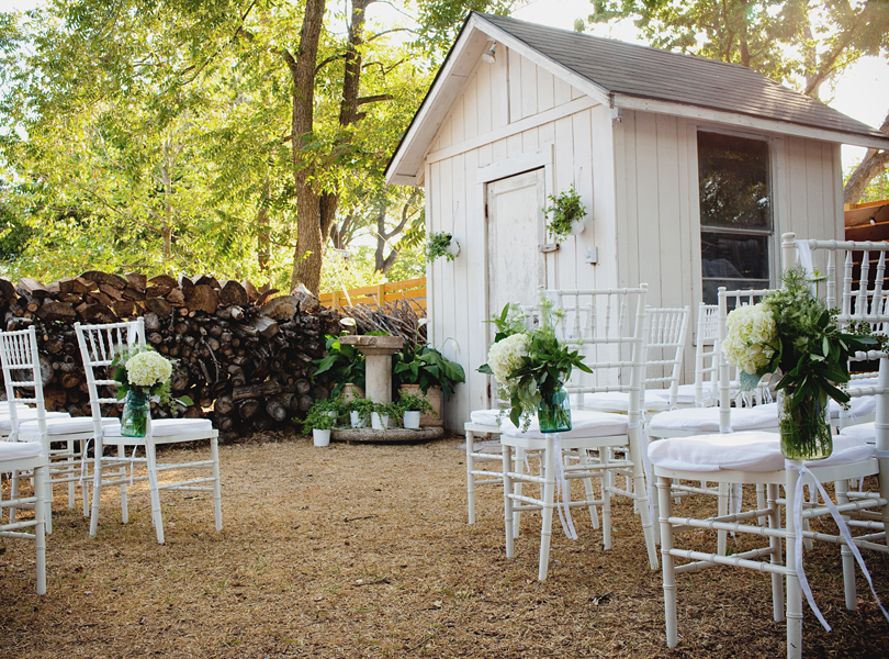 charming south austin backyard wedding, whole foods, DIY, alter, rustic wedding, shabby sheik