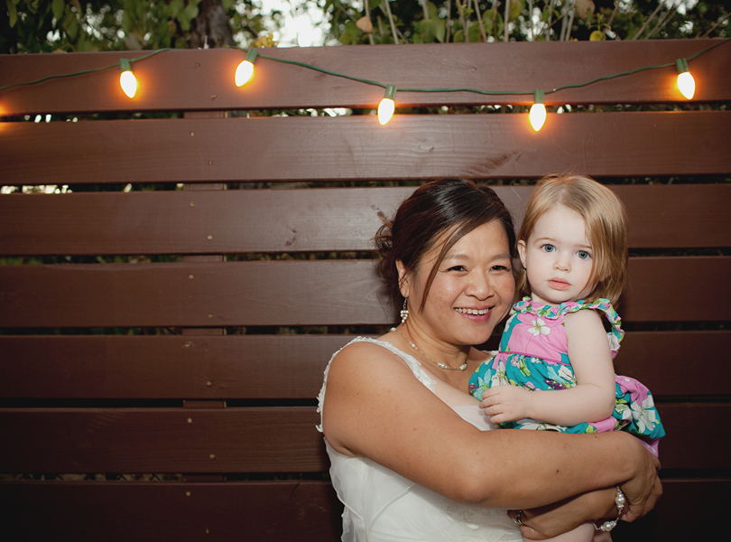 charming south austin backyard wedding, whole foods, DIY, wedding dress, flower girl, mature bride,
