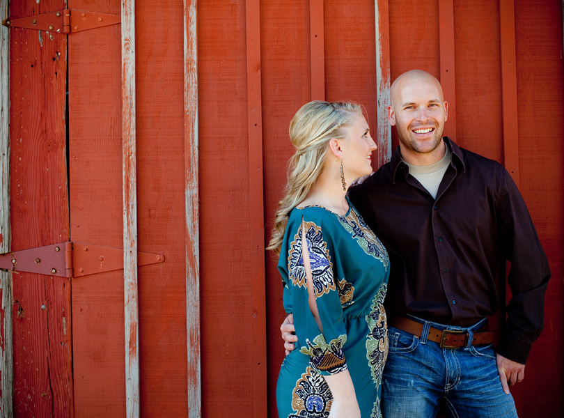 fredricksburg engagement session
