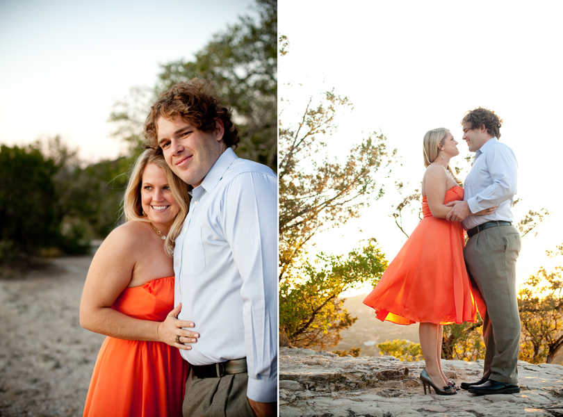 sun kissed engagement photographer