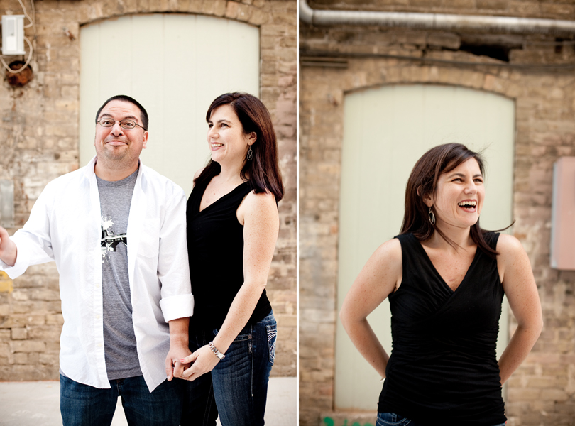 Engagement Photography Session Austin 6th Street