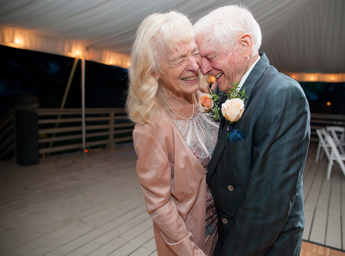grandma and grandpa dancing and happily married after 50 years stonehouse villa wedding photo