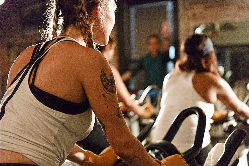 Members always cycle free,Non-Members cycle for only $11 per class the month of March. - Sign up here >