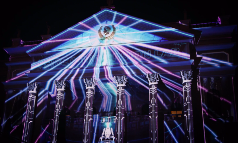 Cinemacon Projection Mapping