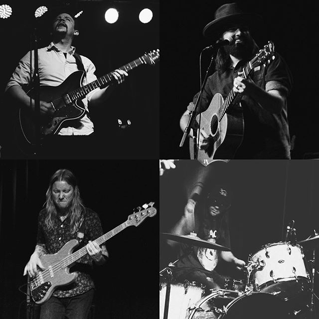 It's been a real pleasure playing with these fellas for the last couple weeks. (plus Greg Herndon crushin on keys for a few gigs). Photos: @ladycaudle