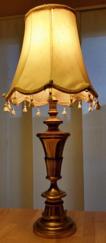 Last January - I bought a really ugly lamp