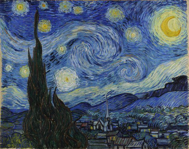 - I chose Van Gogh's Starry Night