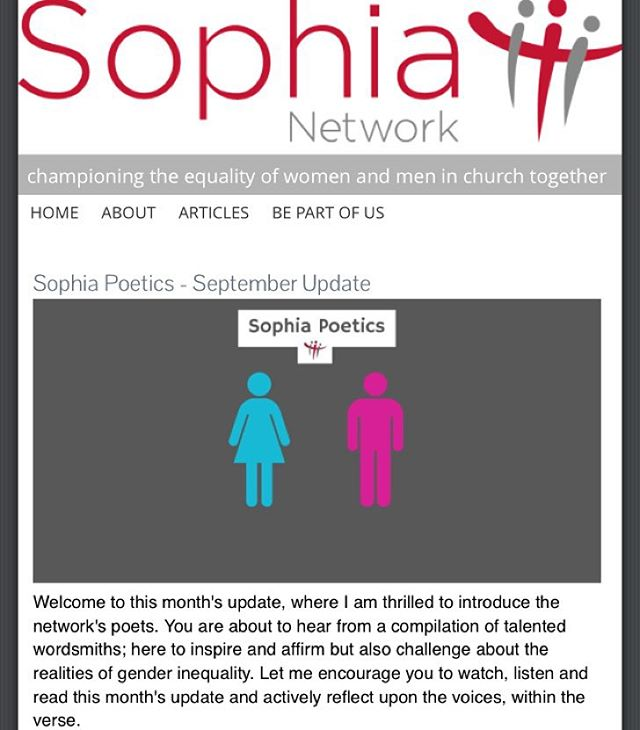 Welcome back to post-summer life everyone. Happy September! I'm excited about the new season ahead and it's been great to start as I mean to go on after being asked to write a #poem for the #Sophianetwork. The poem addresses what it means to me to be a #woman of #God. Personally, I think as #sisters we must be #unified. We are to build one another up, not bring each other down whether behind each other's backs or face to face. Let's help each other run this race rather than pushing one another aside to get ahead. Follow the link in my bio to hear the full poem. Or search '1authenticheart' on Facebook or Twitter to find it there. Let's support one another, ladies. #spokenword #Christian #she #poetry #unity #Church #faith #Jesus #God