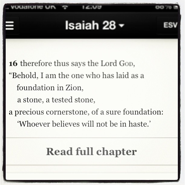 Christ Alone, Cornerstone! Our SURE and CERTAIN foundation. 😄🙏❤ #Jesus #Redeemer #Unfailing #Bible #God #Truth