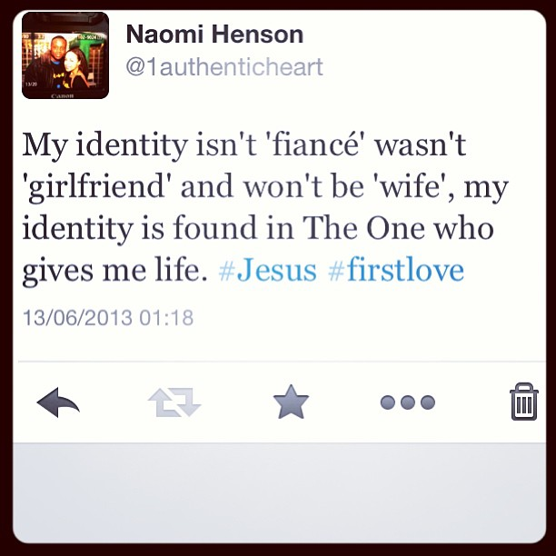 God has been reminding me of a few home truths today. I love that I serve a God who is jealous for me. #Jesus #FirstLove #God #Faith #Prayer #Christian #Rhyme #bridetobe #marriage #love