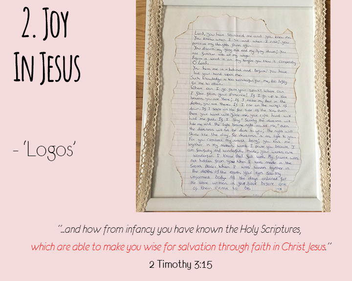 Point Two - Joy in Jesus