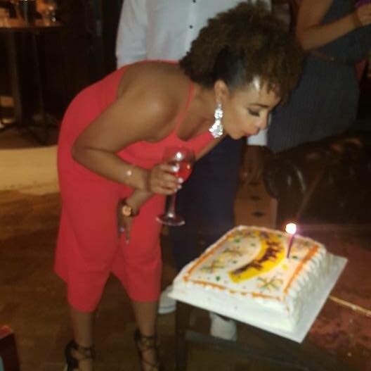 Me at my 30th birthday party!