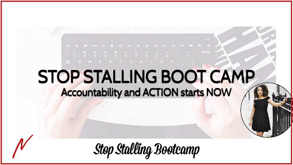 Stop Stalling Bootcamp - Four hours of training AND implementation for the woman who is...🚀 READY TO LAUNCH 🚀 her first or next program/product/service and wants to do it ASAP.