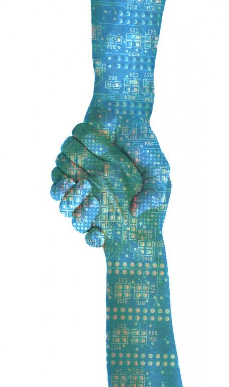 our friendly digital handshake