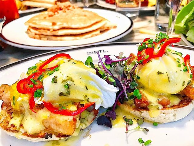It's Friday but we're already thinking about #weekend #brunch @thenationalnyc 📸 #regram by @felizfoodie