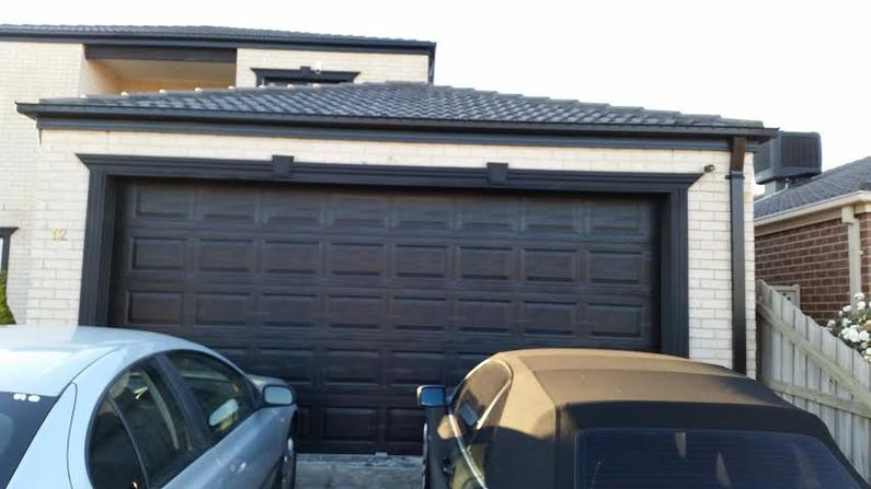 A Garage after architraves.