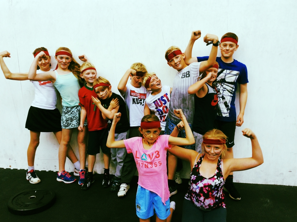 Our strong CrossFit Kids