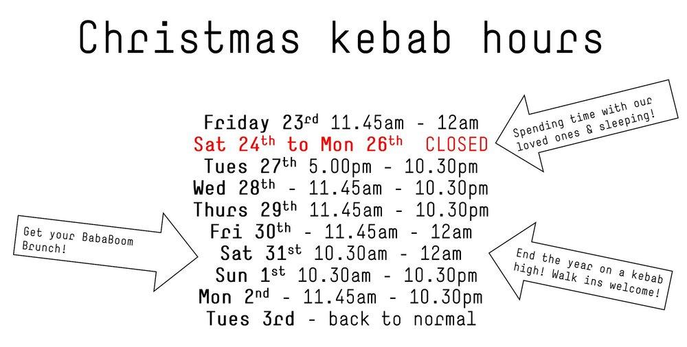 BabaBoom Christmas 2016