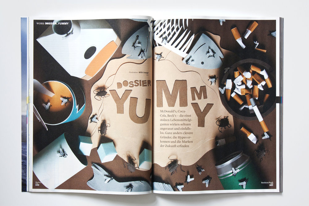 WRK_Graphicdesign_Tactile_Illustration_Papercraft_Businesspunk_YUMMY_Dossier_Andrea_Weber_Damoun_Tamir.jpg