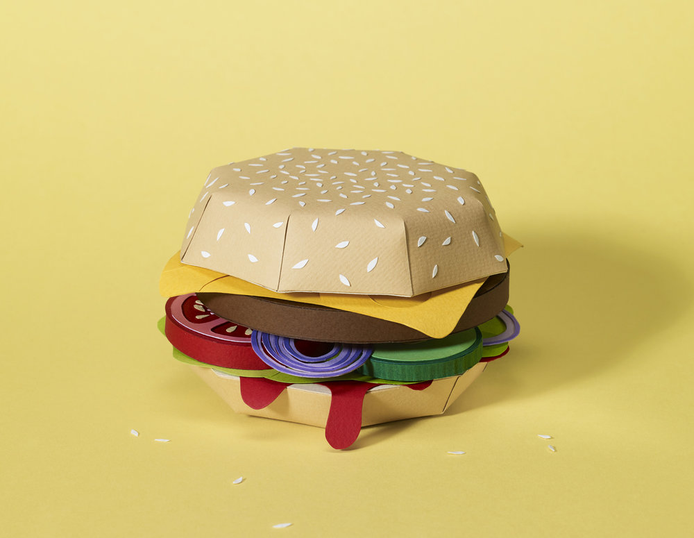 WRK_Graphicdesign_Tactile_Illustration_Papercraft_Businesspunk_YUMMY_Dossier_Burger_Andrea_Weber_Damoun_Tamir.jpg