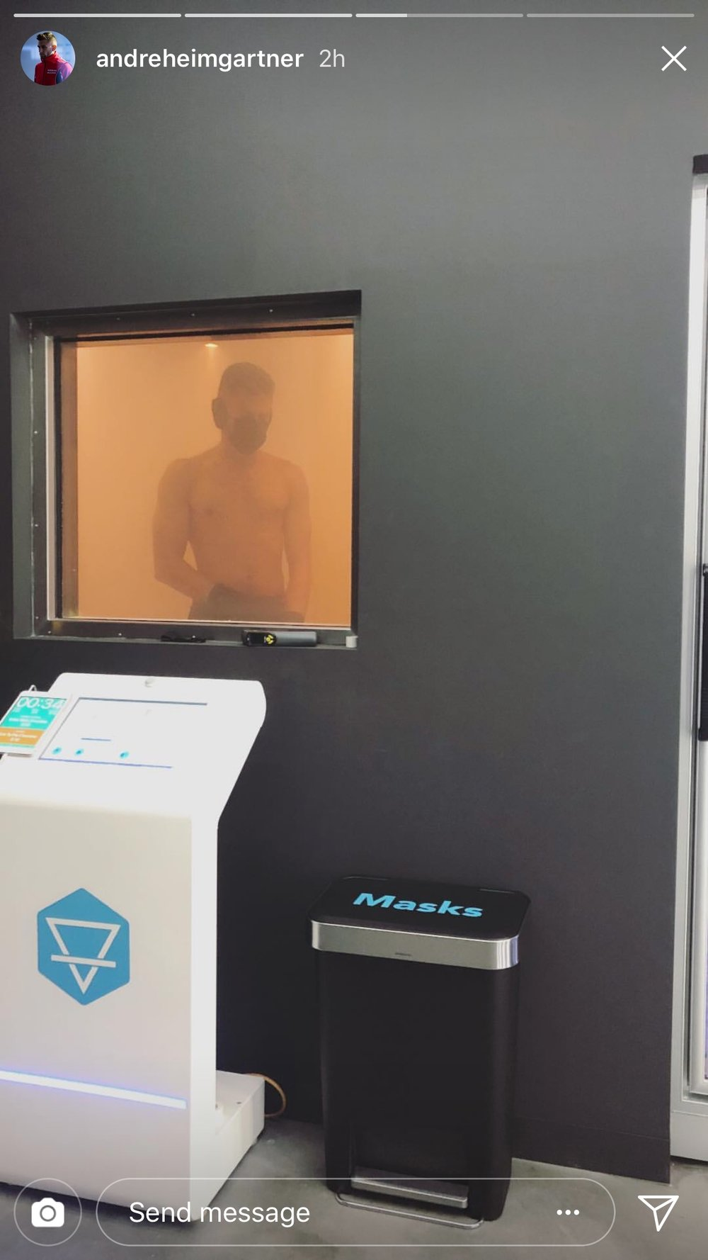 Whole Body Cryotherapy Chamber.JPG