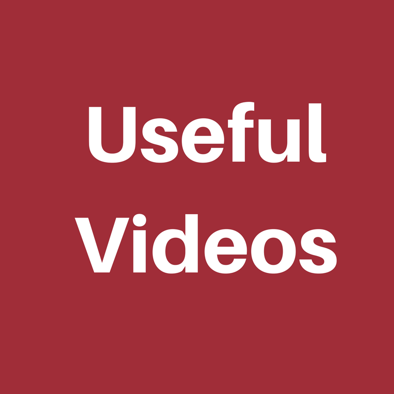 Useful Videos