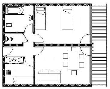 Apartament 4 os.