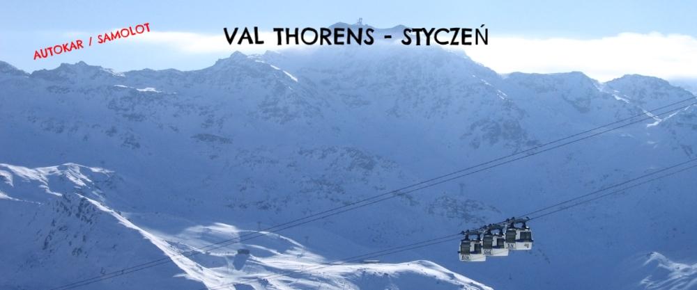 VAL THORENS - TRZY DOLINY - STYCZEŃ