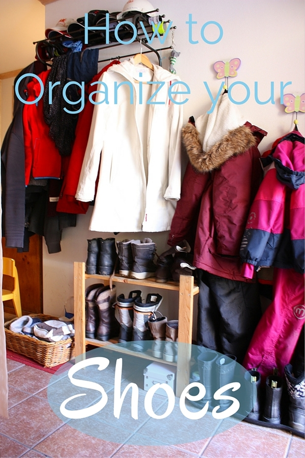 How to organize your shoes - collekecreations.com