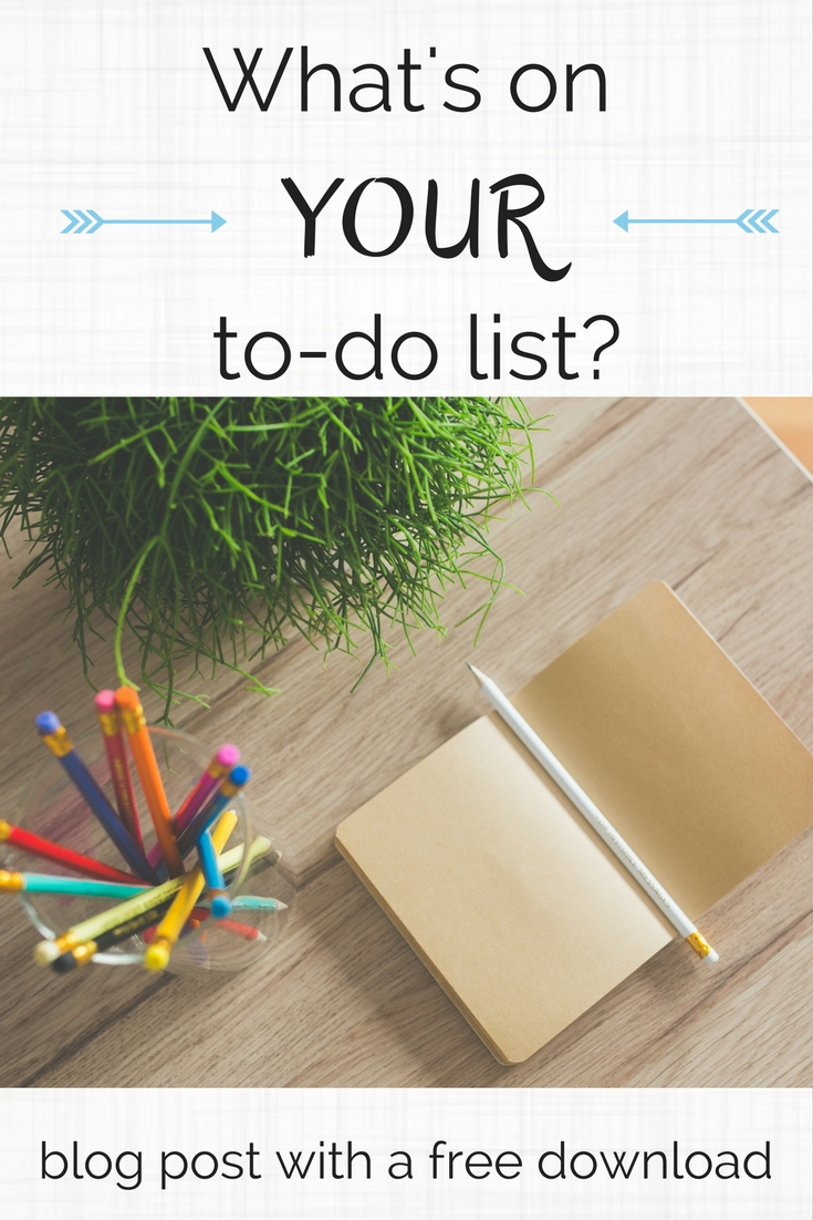 What's on YOUR to-do list? - CollekeCreations.com