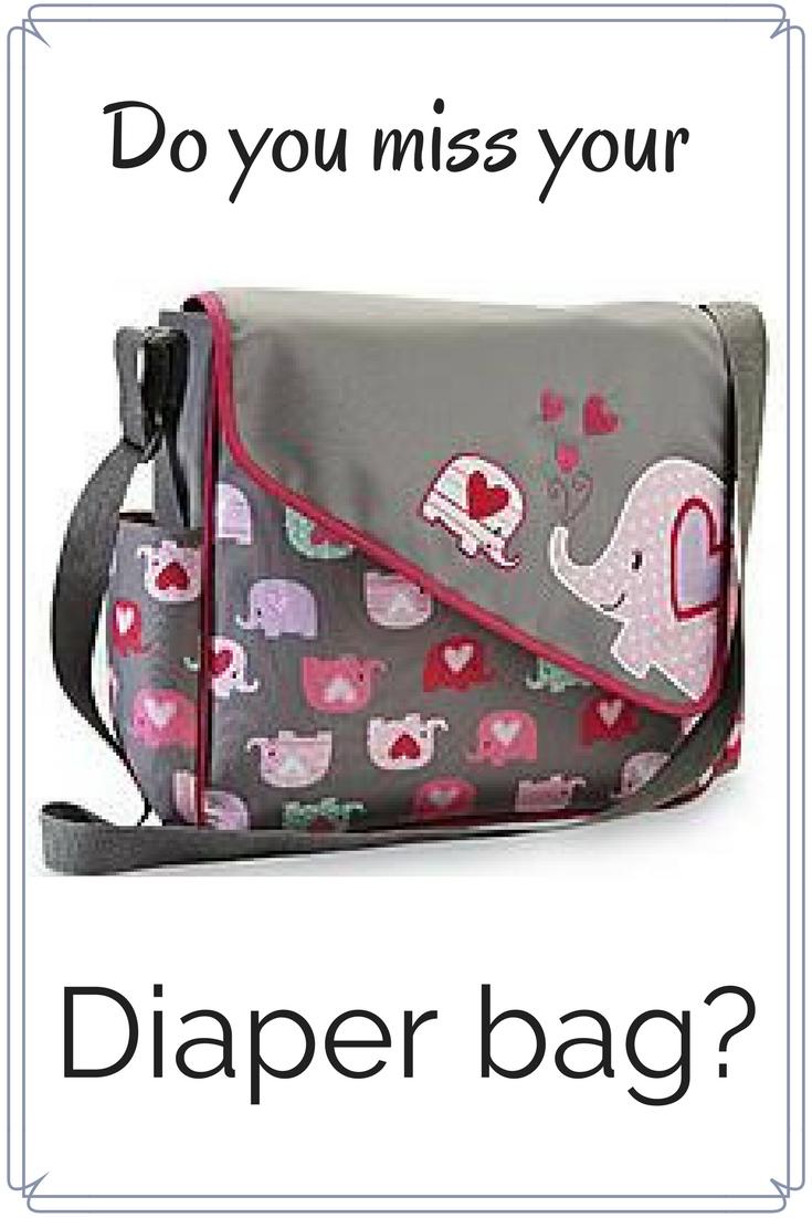 Do you miss your diaper bag? by CollekeCreations.com