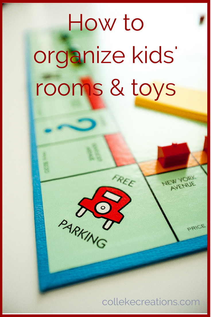 How to organize kids' rooms & toys-collekecreations.com