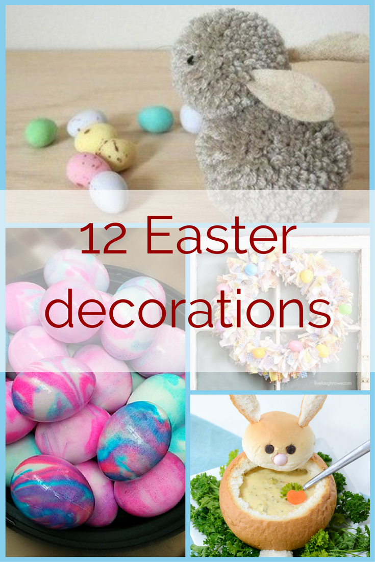 12 Easter decorations - collekecreation.com
