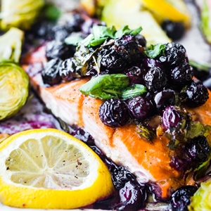 Superfood baked salmon from Lindsay - Colleke Creations