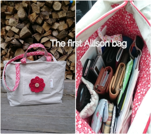 This was the first Allison bag from April 2016 - Colleke Creations