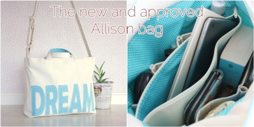 The new and improved Allison bag - Colleke Creations