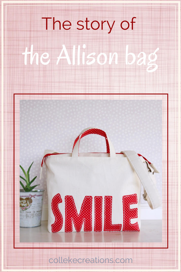 The story of how the Allison bag came into the world. Do you want to be more organized in your bag? - Colleke Creations